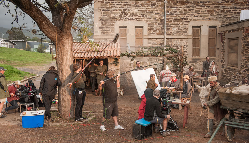 Behind the scenes of ANZAC GIRLS by Matt Nettheim