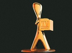 Gold Logie award .